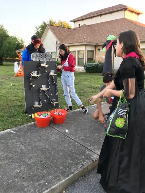 Volunteers Zombie game