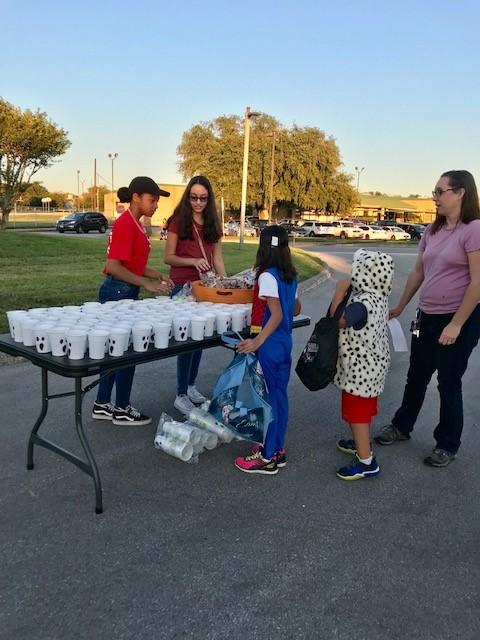 Volunteers cup game