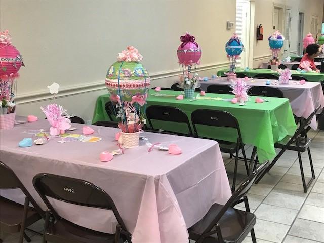 Hot Air Balloons Tables