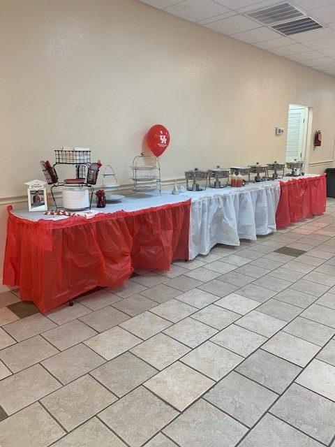 UH Grad buffet