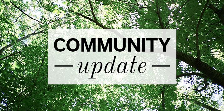 Community update