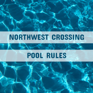 Pool rules banner for website