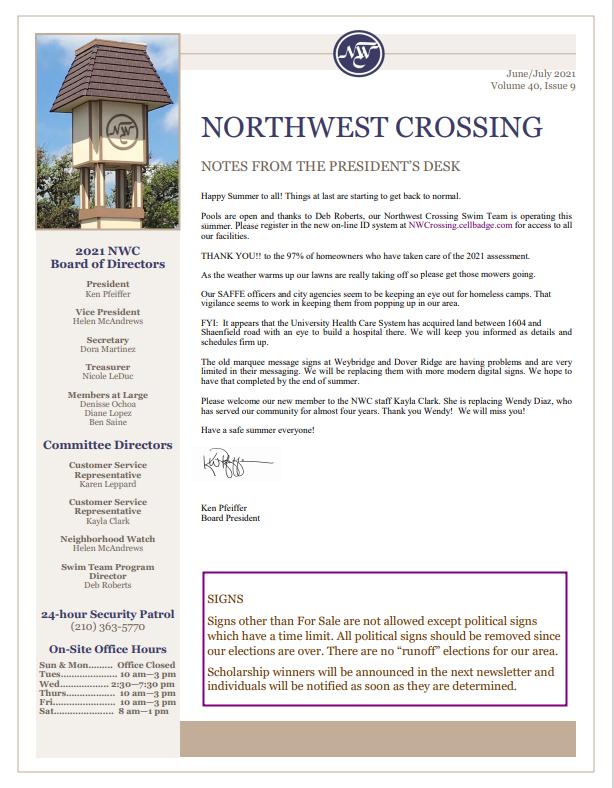 Screenshot Newsletter Jun-Jul 2021
